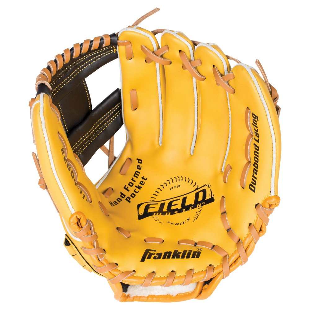 Franklin Sports Field Master Series 11.0 Baseball Glove Left-Hand, Multi-Colored