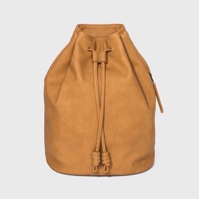 Bucket Drawstring Closure Backpack - Universal Thread™ Cognac