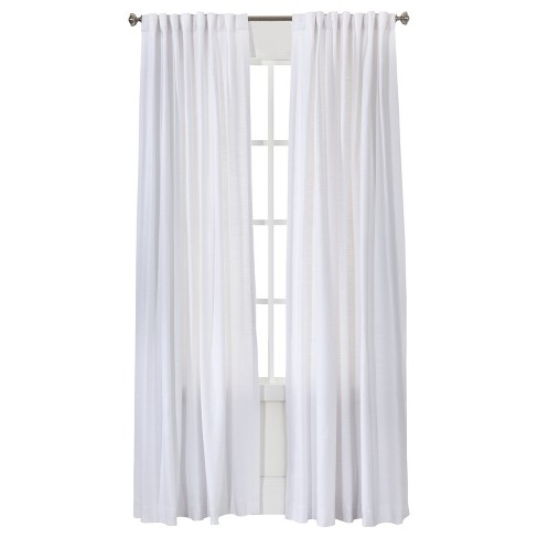 Natural Core Solid Curtain Panel - Threshold™ - image 1 of 2