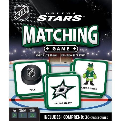 NHL Dallas Stars Matching Game - image 1 of 3