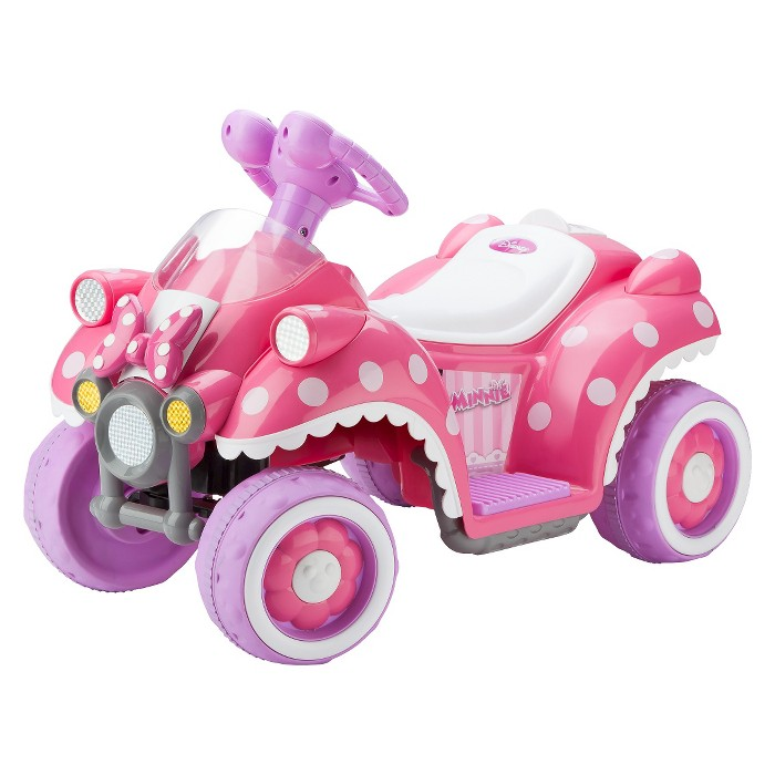 Kid Trax Disney Minnie Mouse 6V Quad Ride On - image 1 of 3
