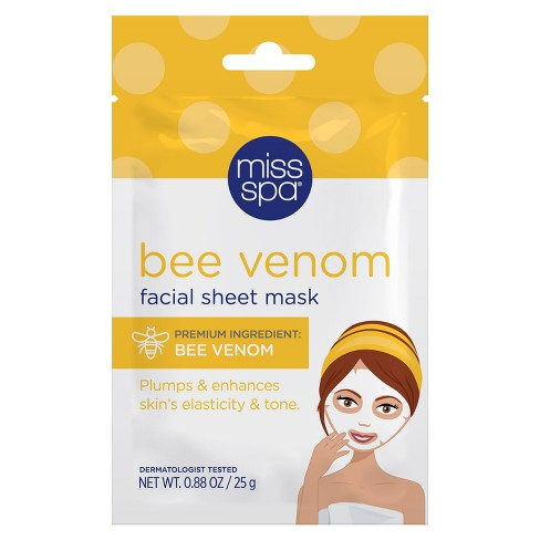 Miss Spa Bee Venom Face Mask Sheets - 0.88oz - image 1 of 4