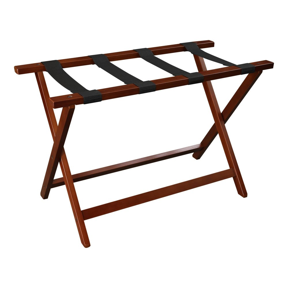Image of Luggage Rack Walnut - Flora Home