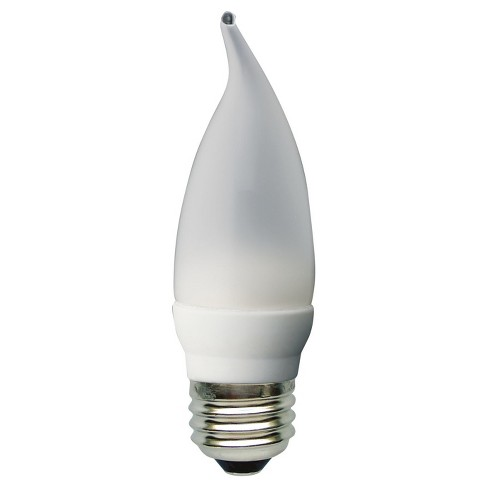General Electric 2pk 40W CAM LED Light Bulbs White - image 1 of 2