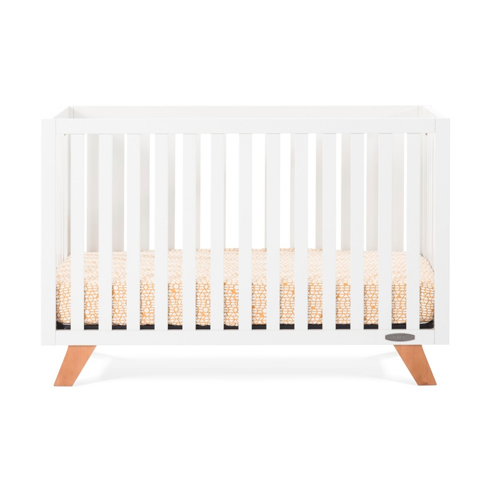 Forever Eclectic by Child Craft Soho 4-in-1 Convertible Crib - Matte White