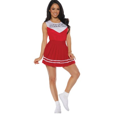 Adult Cheer Adult Red Halloween Costume - M