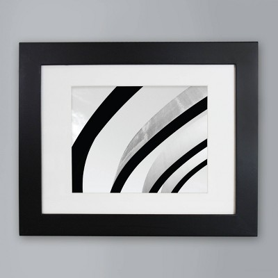 "8"" x 10"" Wide Gallery Matted Frame - Made By Design™"
