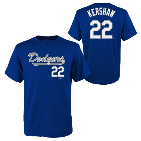 MLB Los Angeles Dodgers Youth Name & Number T-Shirt - image 1 of 3