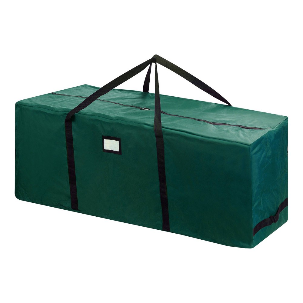 Image of 12' Premium Rolling Christmas Tree Storage Duffel Bag Green - Elf Stor