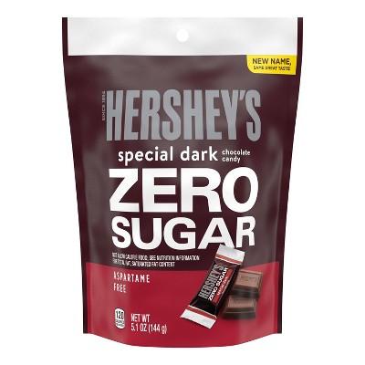 Hershey's Special Dark Sugar Free Pouch - 5.1oz