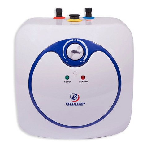 Eccotemp Em 2 5 Gallon Under Sink Electric Mini Storage Tank Hot Water Heater Target