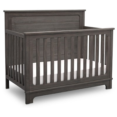 Simmons® Kids Slumbertime Monterey 4-in-1 Convertible Crib - Rustic Gray