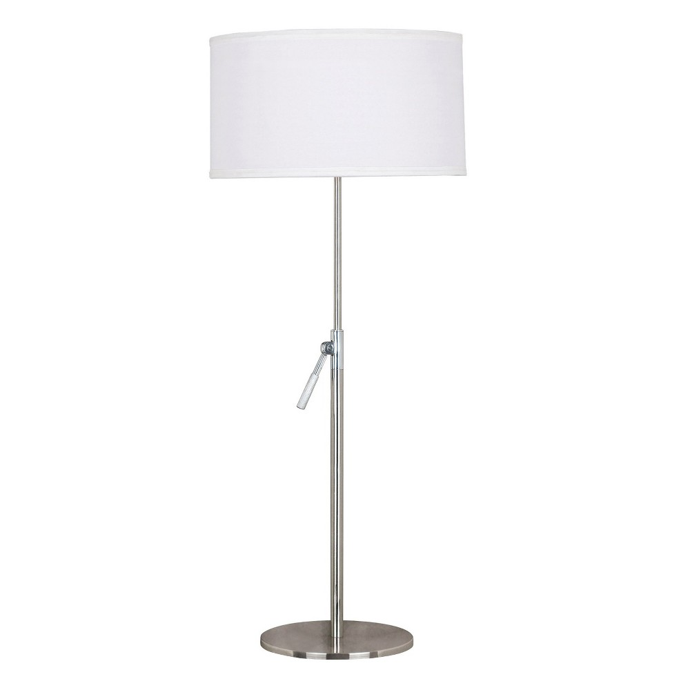 Kenroy Home Stainless Steel (Silver) Table Lamp (Lamp Only)