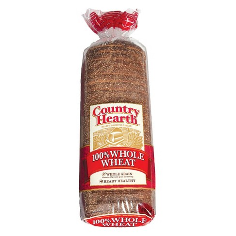 Country Hearth - 100% Whole Wheat Bread - 24oz - image 1 of 1