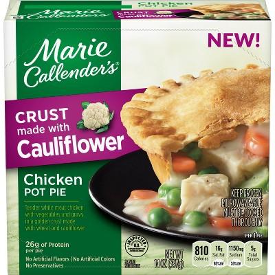 Marie Callender's Frozen Cauliflower Crust Chicken Pot Pie - 14oz