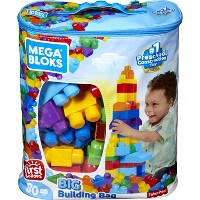 Mega Bloks 80-Piece First Builders Big Building Bag (Classic)