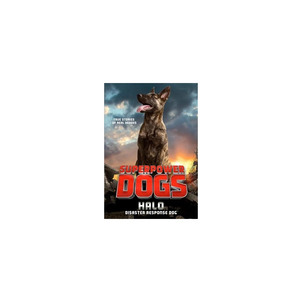 Superpower Dogs : Halo, Disaster Response Dog - by Stephanie Peters (Paperback)