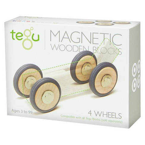 Tegu Magnetic Wooden Wheels - image 1 of 3