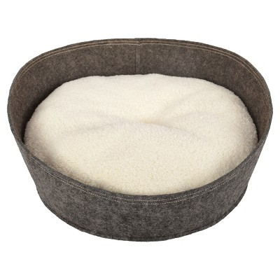 Circle Pet Bed - Small - Radiant Gray - Boots & Barkley™