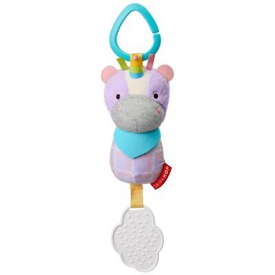 Skip Hop Bandana Buddies Chime & Teethe Toy - Unicorn