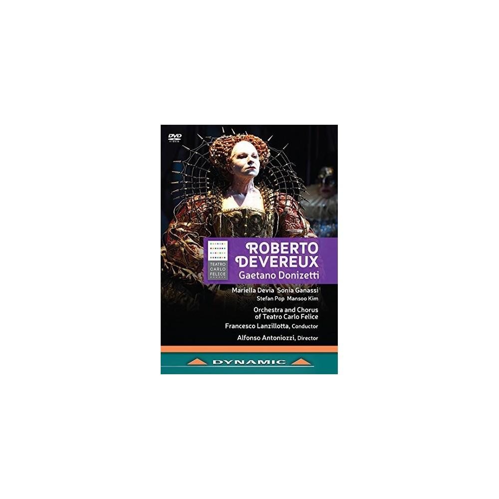 Donizetti:Roberto Devereux (Dvd)