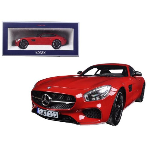2015 Mercedes AMG GT Red 1/18 Diecast Model Car by Norev - image 1 of 1