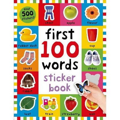 First 100 Words Sticker Book (Paperback) by Kimberley Faria