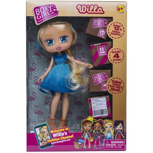 Boxy Girls Doll *EMERY* Unbox 1 Mini Shopping Box Jewelry Accessories /& More NEW