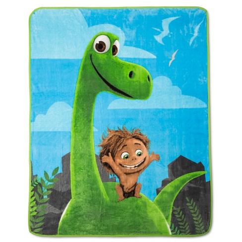 063a63f740 Disney Throw Blanket The Good Dinosaur Blue 50x60