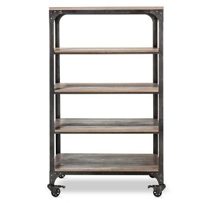 60  Franklin 4 Shelf Bookcase