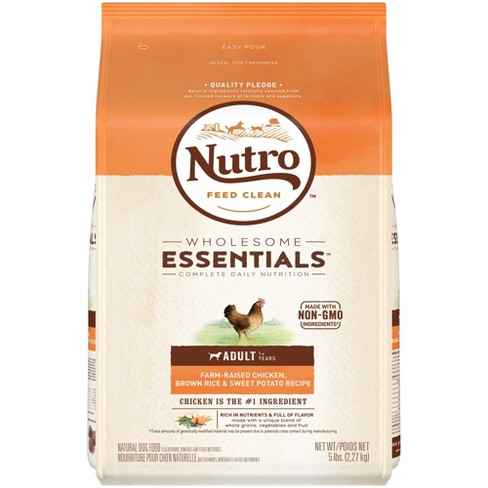 Nutro Wholesome Essentials Adult Chicken Rice Dry Dog Food - image 1 of 5