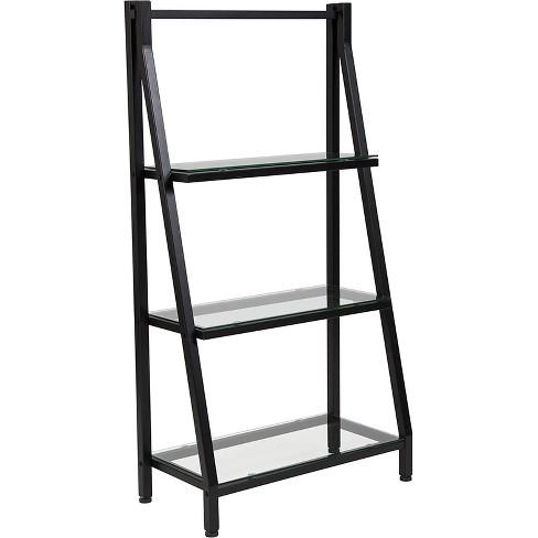 455 Bookshelf With Metal Frame