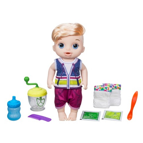 Baby Alive Sweet Spoonfuls Baby Doll Boy Blonde Target