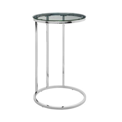 """24"""" Ceres Round Glam C Table - Saracina Home"""