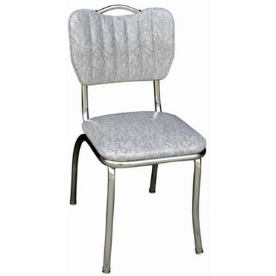 Handle Back Diner Chair Cracked Ice Gray - Richardson Seating