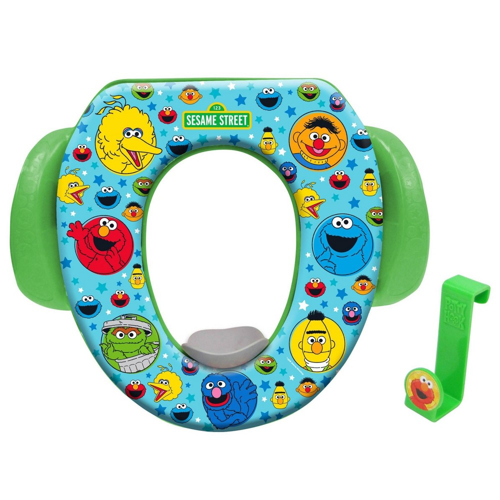 Image of Sesame Street Soft Potty with Hook Green