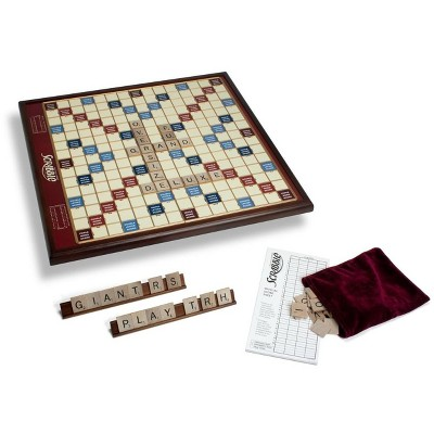 Giant Scrabble (Deluxe Wood Edition) Board Game