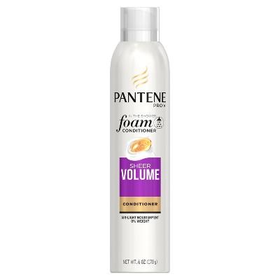 Shampoo & Conditioner: Pantene Pro-V Sheer Volume Foam