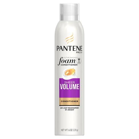 Pantene Pro-V Sheer Volume Foam Conditioner - 6oz - image 1 of 2