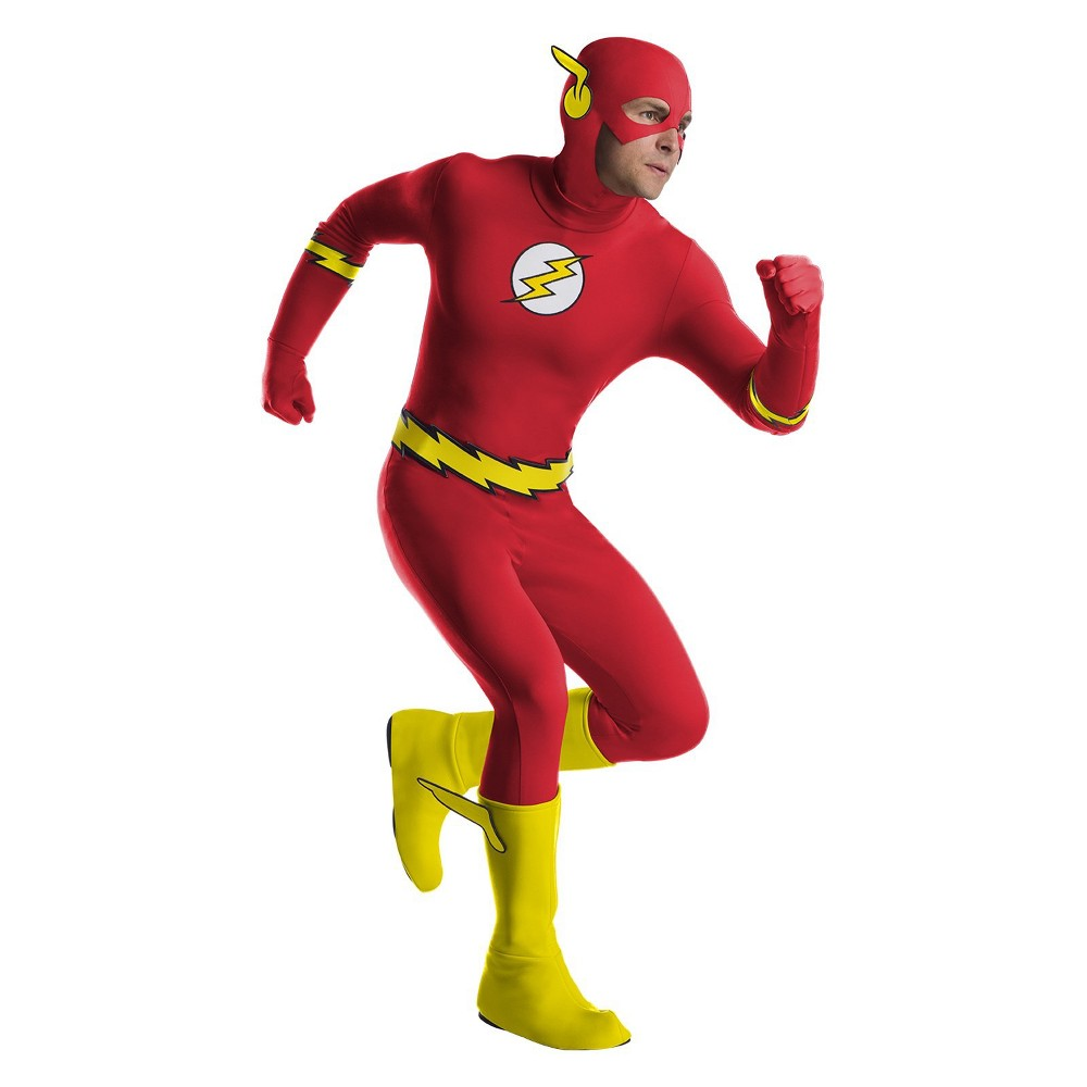 Image of Halloween Men's Flash Halloween Costume XL, Size: XL, MultiColored