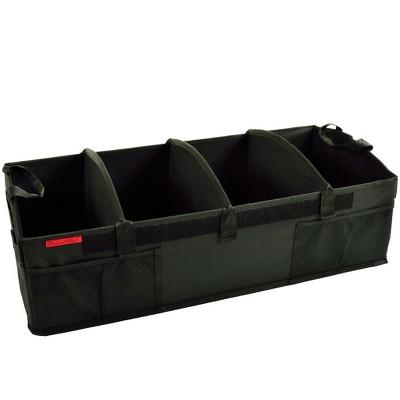"Picnic at Ascot - Ultimate Heavy Duty Trunk Organizer - No Slide Rigid Base - 70 LB Capacity - 30"" wide x 14.75"" deep x 9"" high - Black"