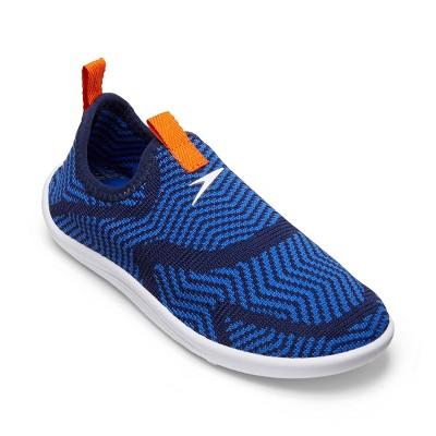 Speedo Junior Boys' Surfknit Water Shoes - Zig Zag Blue