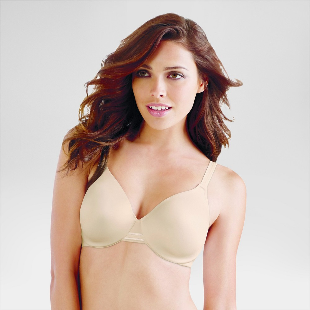 Beauty by Bali Women's Concealing Petals Underwire Bra 3B11 - Soft Taupe 38DD
