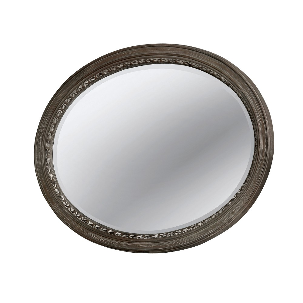Decorative Wall Mirror Earth Gray - Homes: Inside + Out