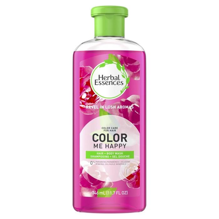 Herbal Essences Color Me Happy Shampoo & Body Wash Shampoo For Colored Hair - 11.7 Fl Oz : Target