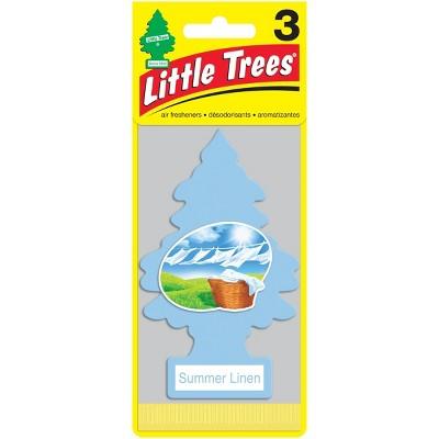 Little Trees Summer Linen Air Freshener 3pk