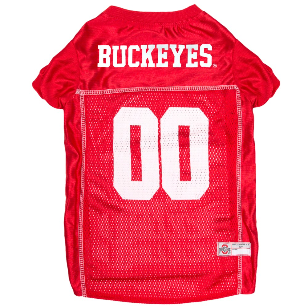 Pets First Ohio State Buckeyes Mesh Jersey - L, Multicolored