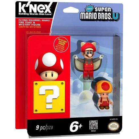 K Nex New Super Mario Bros U Flying Squirrel Mario Fire Toad And