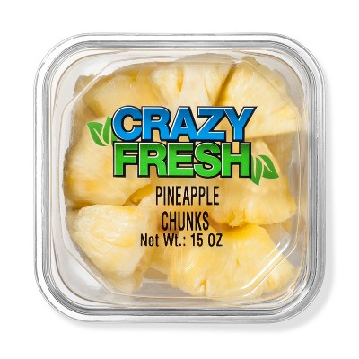 Crazy Fresh Pineapple Chunks - 15oz