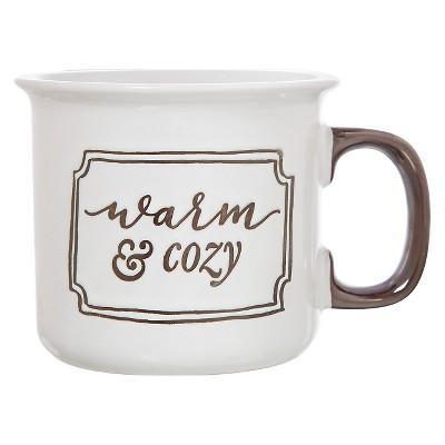 Clay Art Camper Mug 15oz Stoneware -  Warm & Cozy